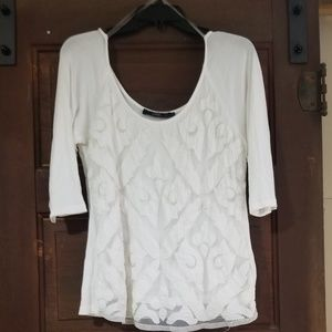 Embellished Lace Top